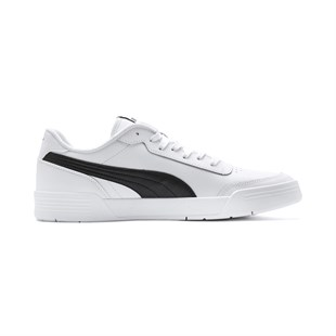 PUMA Caracal White-Black UNİSEX GÜNLÜK AYAKKABI - 36986303-White-Black