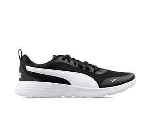 PUMA Flex Renew Black-White UNİSEX GÜNLÜK AYAKKABI - 37112002-Black-White