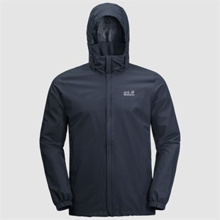JACK WOLFSKIN STORMY POINT JACKET M ERKEK OUTDOOR CEKETİ-night blue