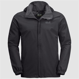 JACK WOLFSKIN STORMY POINT JACKET M ERKEK OUTDOOR CEKETİ-Black