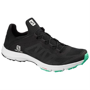 SALOMON AMPHIB BOLD W KADIN AYAKKABI-Black/White/Electric Green