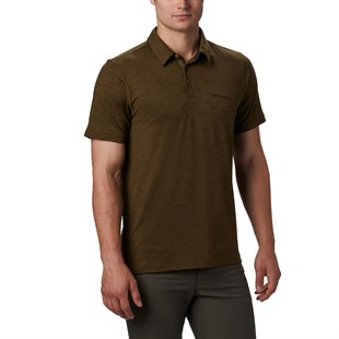 Columbia Tech Trail Erkek Polo T-Shirt AO2933-327