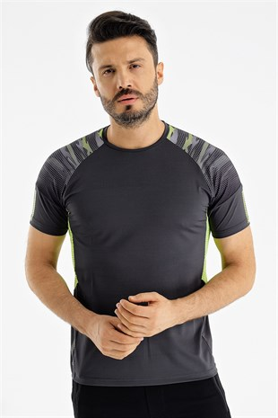 Uhlsport B.Yaka Poly. Dark Erkek T-Shirt